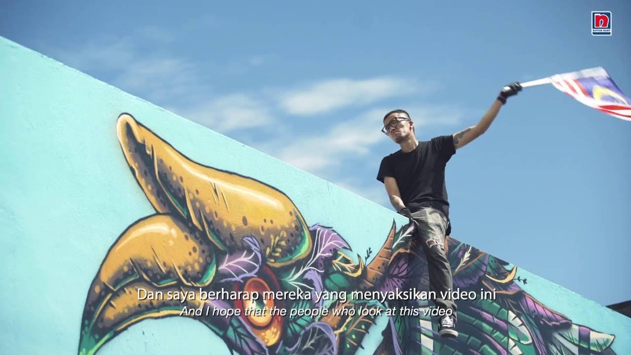Pylox Spray Paint Kenji Inspires Malaysians Youtube Can Gun Cat Pilox Samurai Aerosol