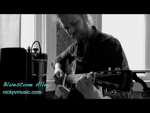 Bluestone Alley-Guitar Cover by Nicky V. (Congfei Wei)