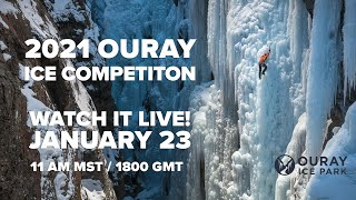 2021 Ouray Elite Mixed Climbing Competition FINALS