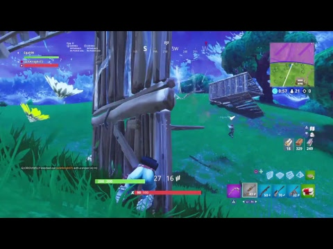 Beginning Of Snow Biome And New SMG!!   PS4 Fortnite Livestream