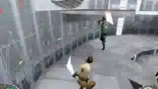 Star Wars Jedi Knight II: Jedi Outcast Gameplay Video 1
