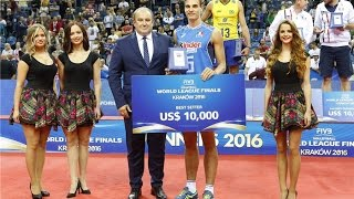 Simone Giannelli | Best Setter Of FIVB World League 2016 | Italy Volleyball