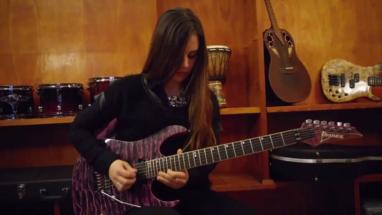 Dream Theater - The Spirit Carries On - Guitar Solo Cover by Eleonora Serri bc18b41826d