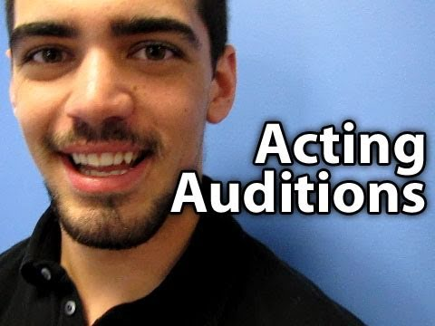 Auditioning To Become An Actor!