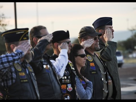 Davis-Monthan's 355th Fighter Wing's Flag Retirement