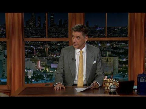 Late Late Show with Craig Ferguson 9/12/2012 Heather Graham, Joel Stein