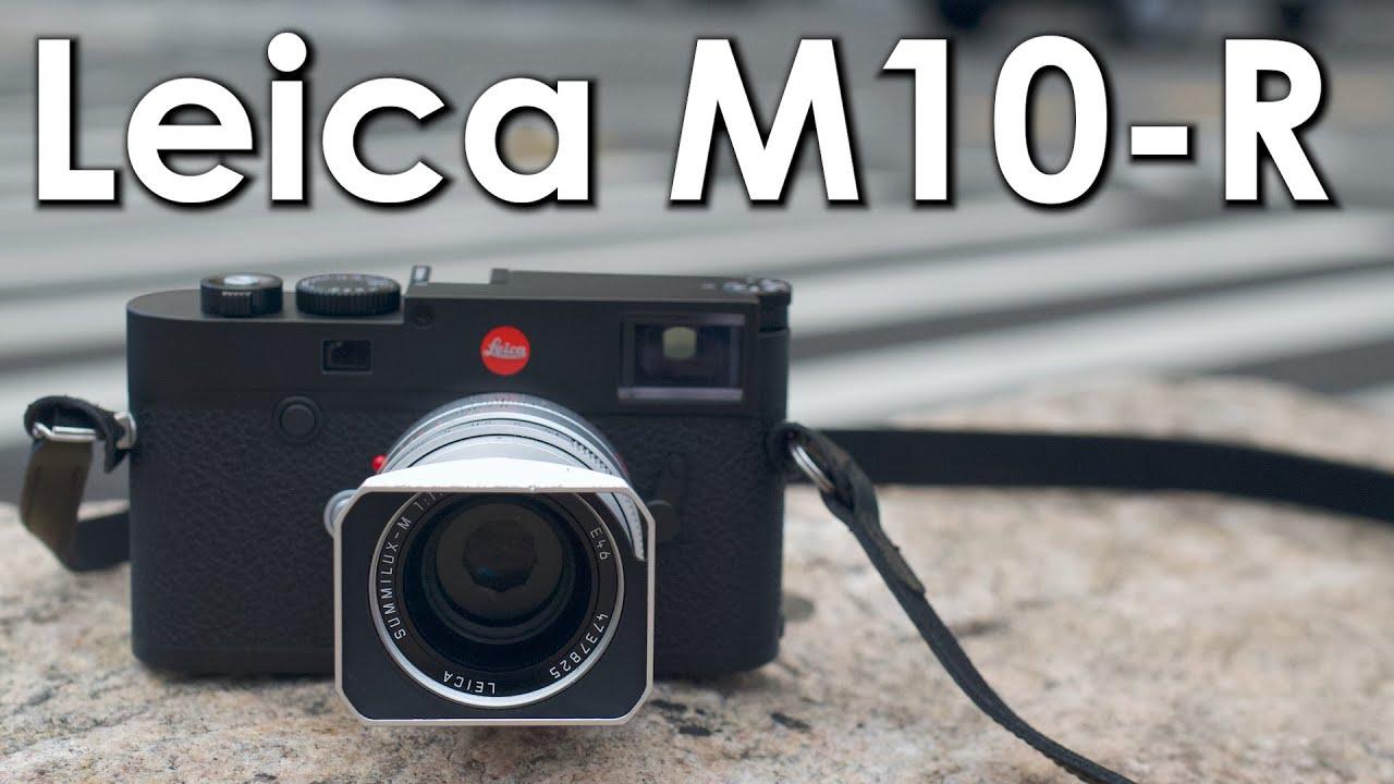 Leica's new M10-R packs a 40-megapixel sensor