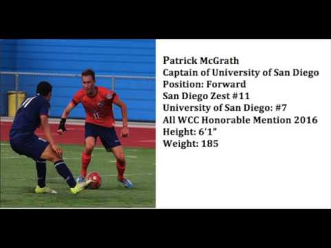 Patrick McGrath Soccer Highlights 2016-2017