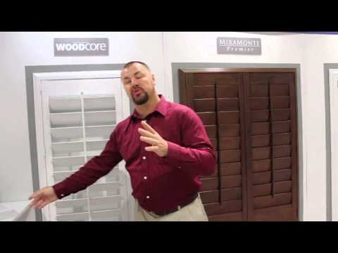 WoodCore Vinyl Shutters: Strong, Durable, and Affordable