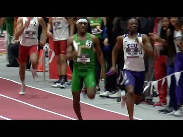 Big 12 Championship Features The Best 400m Runners