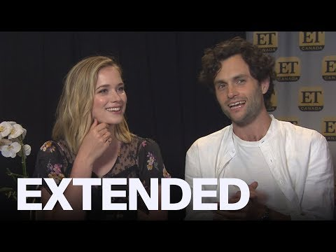 Penn Badgley, Elizabeth Lail Talk 'You' Characters And Social Media