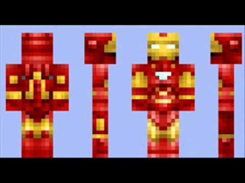 Iron Man Minecraft Skin Free Download YouTube - Skins minecraft baixar gratis