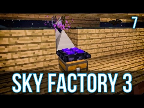 MOB FARM AUTOMATION | SKY FACTORY 3 | EPISODE 7