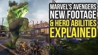 Marvel Avengers Game - Special Abilities, Outfits & New Trailer Soon! (Marvel's Avengers Gameplay)