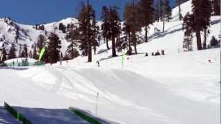 Humongous 60 Feet Jump by 9 Years Old Skier