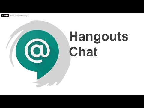 Deep Dive Into The New Hangouts Chat