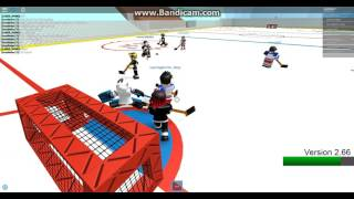 ROBLOX Hockey (NHL) - Los Angeles Kings Vs. New York Rangers Period 2