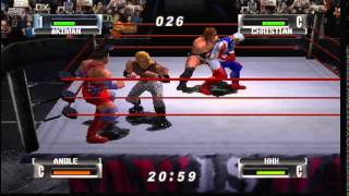 WWF No Mercy N64 Royal Rumble custom Elimination match