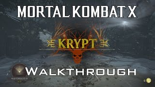 Mortal Kombat X - Krypt: Full Walkthrough - How to get to all Areas!