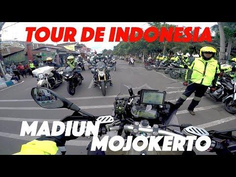 MOTOVLOG Ngawal TOUR DE INDONESIA - MADIUN Sampai MOJOKERTO