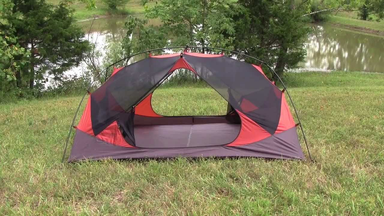 ALPS Mountaineering Chaos Tent - YouTube