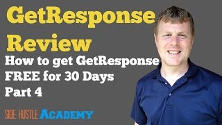 How to get GetResponse Free For 30 Days 4/4