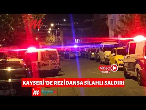 Kayseri'de Rezidansa Silahlı Saldırı