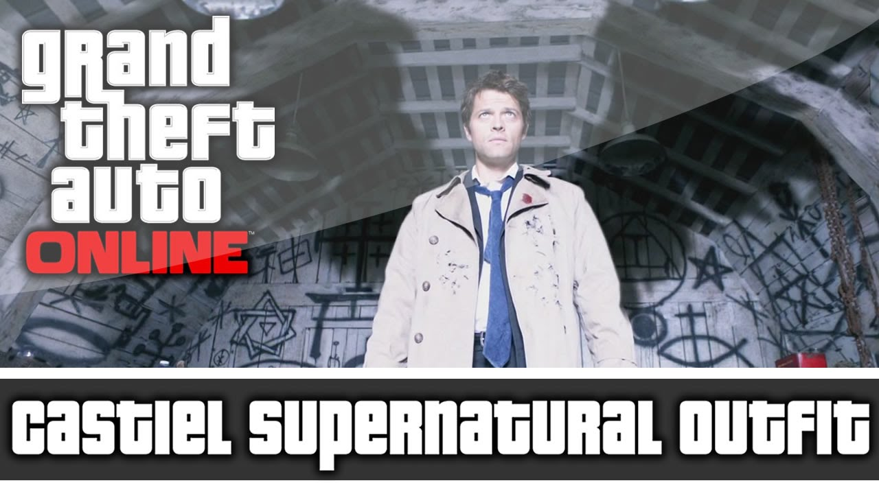 Gta 5 online supernatural castiel outfit and customization youtube ccuart Gallery