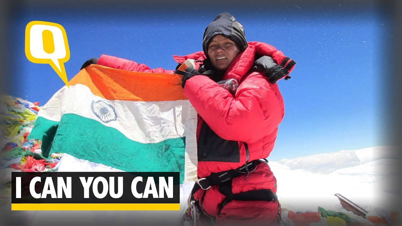 I Can You Can | Arunima Sinha Inspirational Story | First Female amputee  Climb to Mount Everest