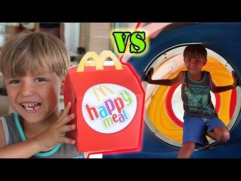 🍔 Happy Meal Toy vs McDonald