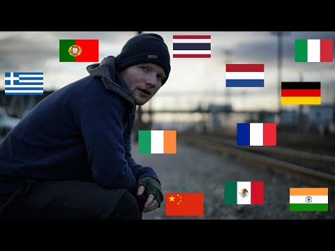 Ed Sheeran - Shape Of You in 12 Languages!