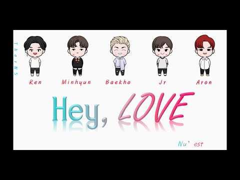 Hey, Love - Nu'est Color Lyrics + Vietsub Han/rom/viet #Nuest #Heylove #lyrics