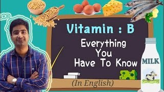 Download (English) VITAMIN B COMPLEX | SOURCES | FUNCTIONS | DEFICIENCY Mp3