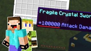 Minecraft Lucky Block Battle - ❌ 100.000 ATTACK DAMAGE ❌ FAIL-RUNDE | Tom Shuffle