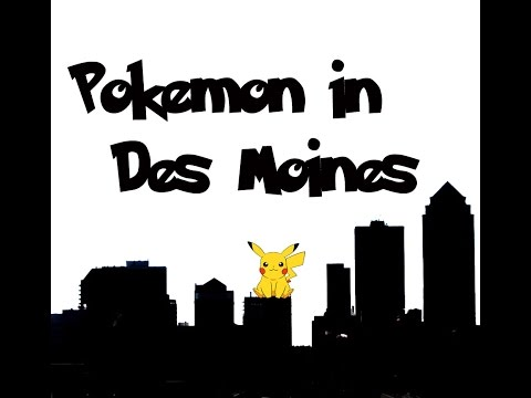 Pokemon in Des Moines