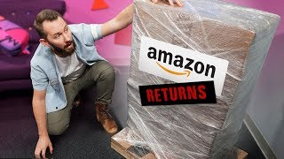 Download We Bought a MYSTERY Crate of Amazon.com Returns! Mp3 and Videos