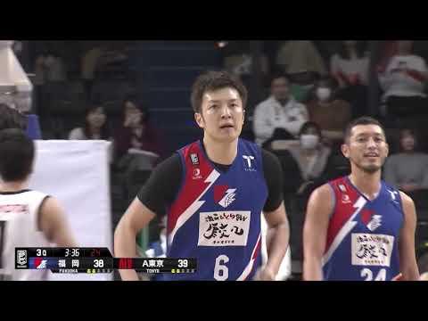 ライジングゼファー福岡vsアルバルク東京 B.LEAGUE第23節 GAME1Highlights 02.01.2019 プロバスケ (Bリーグ)
