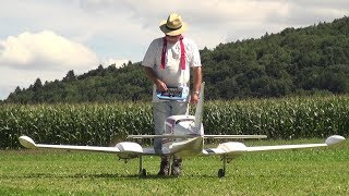 Aerobatics with a Cessna 310 Scale RC Model Airplane A.L.K 2017