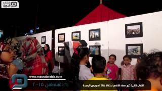 مصر العربية | الالعاب النارية تنير سماء الاقصر احتفالا بقناة السويس الجديدة