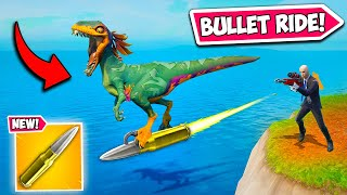 * 0.001% POSSIBILITY * BULLET RIDE!! (IMPOSSIBLE!) - Fortnite Funny Stops Working and WTF Minutes! 1226  | NewsBurrow thumbnail