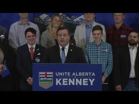 Jason Kenney's Unite Alberta Launch Speech