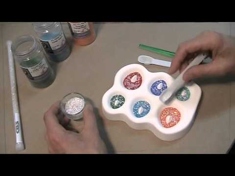Making Dichroic Pendants with Colour de Verre molds