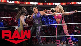 Natalya \u0026 Tamina vs. Ripley \u0026 Nikki A.S.H. – WWE Women's Tag Team Championship: Raw, Sept. 20, 2021