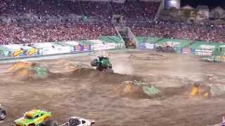 2015 Monster Jam Freestyle At Raymond James Stadium