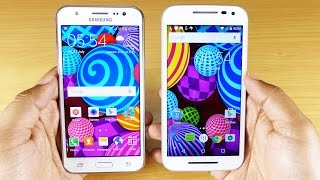 Samsung GALAXY J5 full in-depth Review & Tips/Tricks! ft. Moto G3