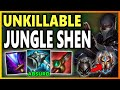 YOU CAN'T ESCAPE FROM FROZEN MALLET SHEN! - S9 Shen Jungle Gameplay   Unranked To Challenger EP 23