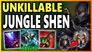 YOU CAN'T ESCAPE FROM FROZEN MALLET SHEN! - S9 Shen Jungle Gameplay Unranked to Challe ...