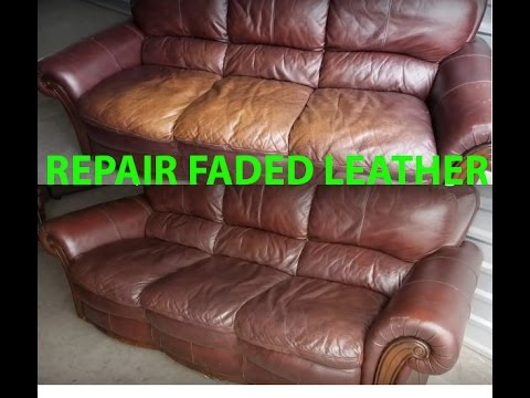 How To Repair Re Faded Leather Quickly Easily It Looks Feels New