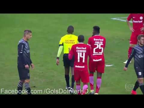 Figueirense 3 x 2 Inter - 19/06/2016 - Brasileirão