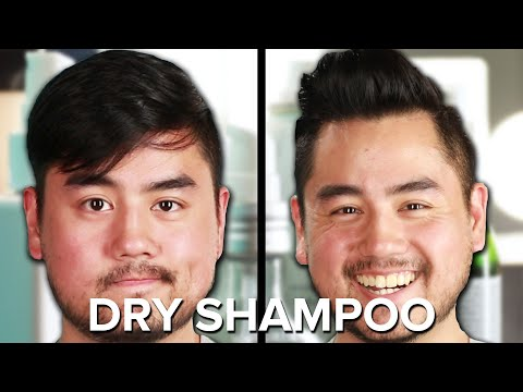 Guys Try Dry Shampoo For The First Time